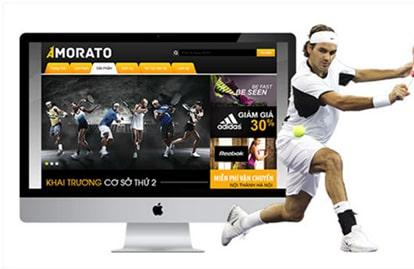 Thiết kế web thể thao chuyên nghiệp, cá tính