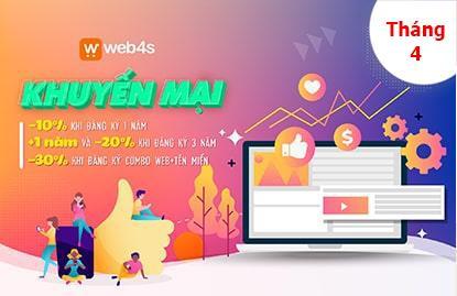ƯU ĐÃI SỐC MÙA COVIT - THIẾT KẾ WEB BÁN HÀNG THÁNG 4.2020
