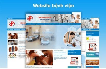 Tạo dựng uy tín bằng việc thiết kế website bệnh viện chuyên nghiệp