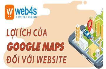 Lợi ích của Google Maps đối với một website