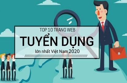 Top 10 các trang web tuyển dụng hàng đầu Việt Nam năm 2020