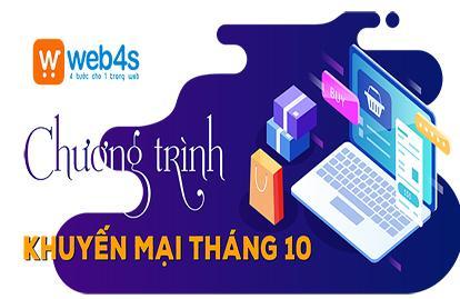 Khuyến mại sốc - giảm tới 7.680.000Đ khi thiết kế website trọn đời tại Web4s