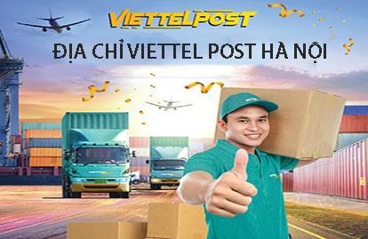 Danh sách địa chỉ Viettel Post Hà Nội chi tiết
