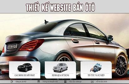 Thiết kế website bán ô tô chuyên nghiệp tại Hà Nội