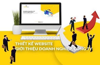 Thiết kế website giới thiệu công ty, doanh nghiệp uy tín tại Hà Nội