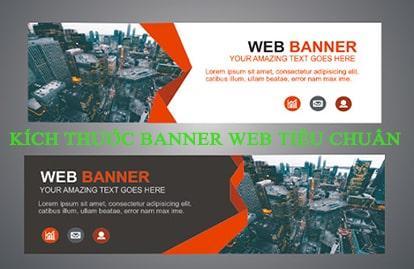Kích thước banner web tiêu chuẩn trong thiết kế website