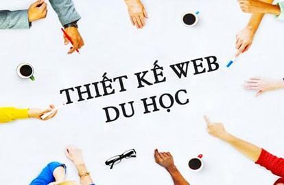 Thiết kế website du học chuyên nghiệp, chuẩn SEO