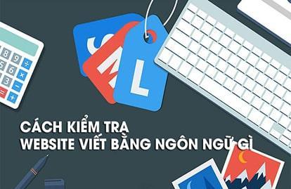 Cách kiểm tra website viết bằng ngôn ngữ gì chính xác nhất