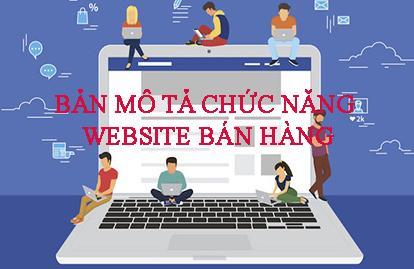 Bản mô tả chức năng website bán hàng