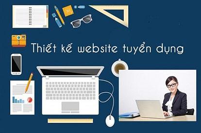 Thiết kế website tuyển dụng - môi giới việc làm chuyên nghiệp