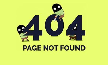 Lỗi 404 not found là gì - Cách khắc phục lỗi 404 not found