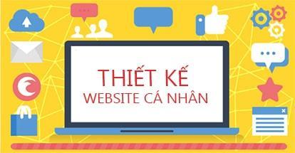 Thiết kế website cá nhân - Thiết kế blog - Mẫu trang web cá nhân đẹp