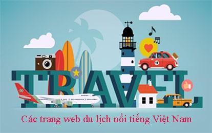 Các trang web du lịch nổi tiếng Việt Nam hiện nay