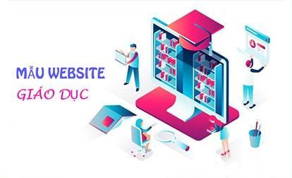 Mẫu website giáo dục đẹp - Template web trường học chuẩn SEO