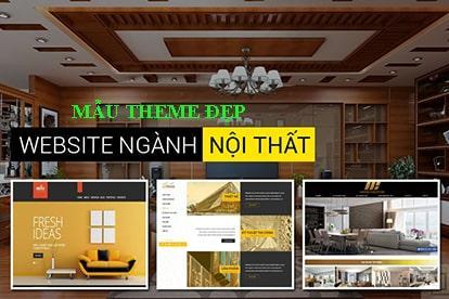 Mẫu website nội thất đẹp - Template bán nội thất chuyên nghiệp