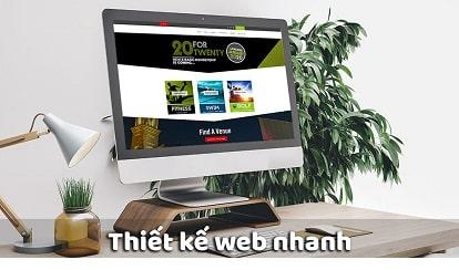 Thiết kế web nhanh đảm bảo uy tín - chất lượng - Web4s
