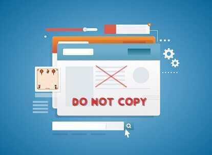 Chống copy trên web, khai báo vi phạm bản quyền Google