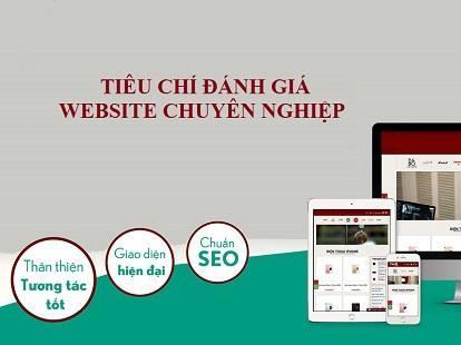 Các tiêu chí đánh giá website chuyên nghiệp, chất lượng nhất
