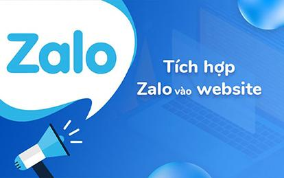 Hướng dẫn nhúng Zalo vào website đơn giản, nhanh chóng nhất