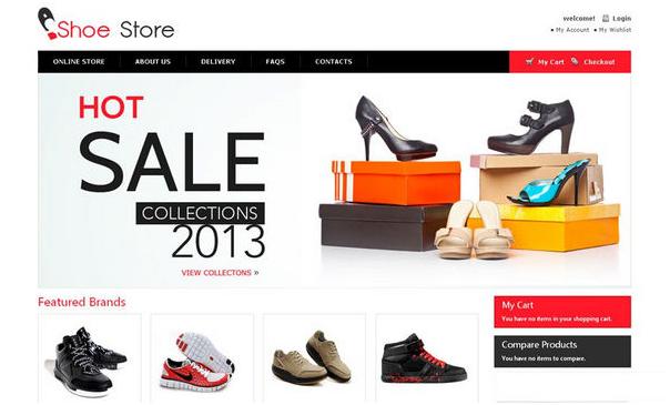Thiết kế web bán giày online chuyên nghiệp, hiệu quả