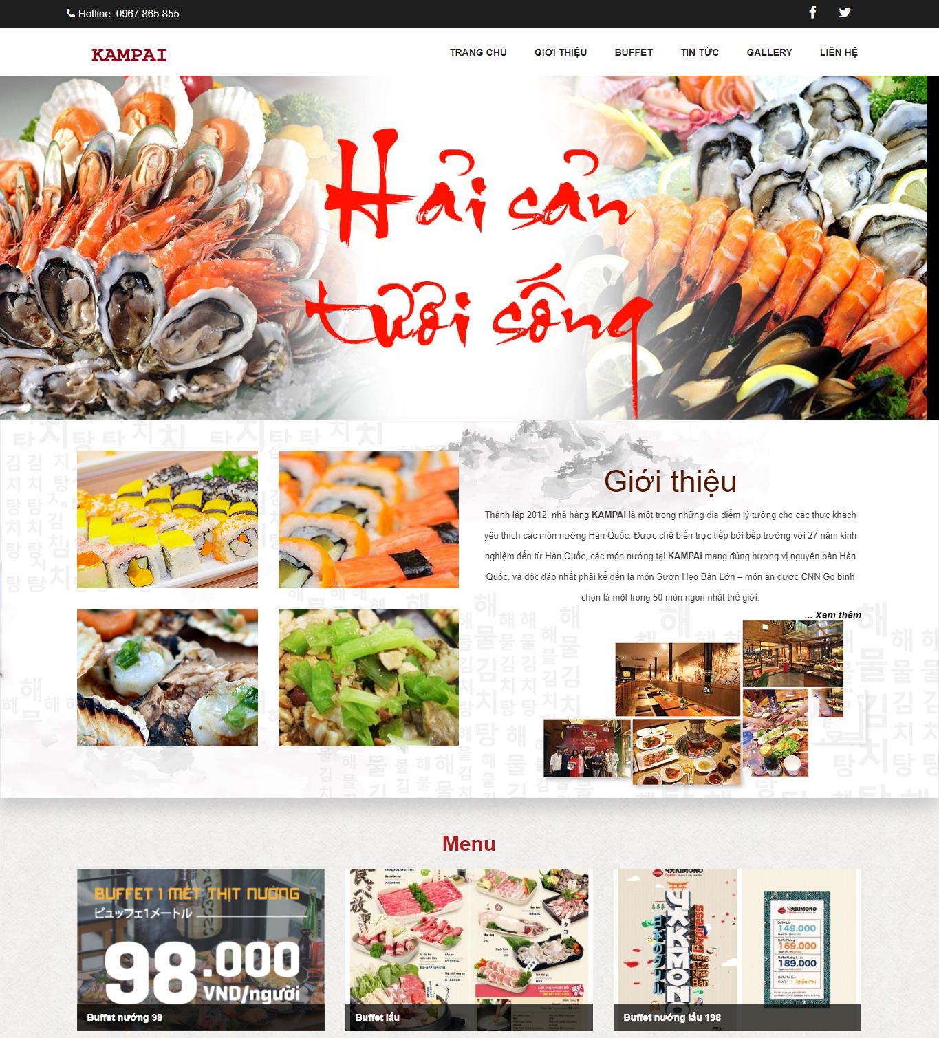 KAMPAI chuỗi nhà hàng lớn nhất Việt Nam