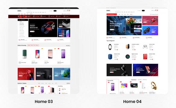 Mẫu thiết kế website điện thoại chuẩn Seo