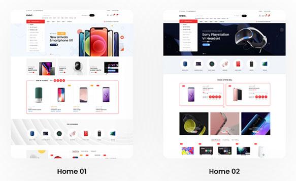 Thiết kế website điện thoại tại Nhân Hòa Website