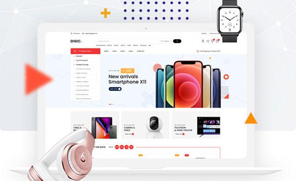 Thiết kế website điện thoại đẹp