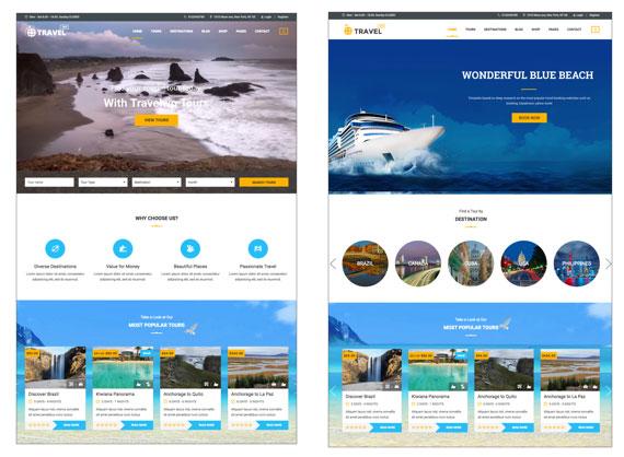 Thiết kế website du lịch giá rẻ tại Hà Nội