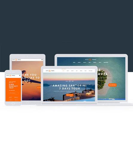 Thiết kế website du lịch tại Web4s
