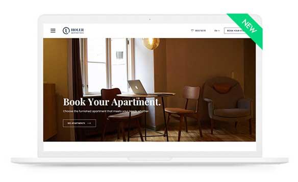 Mẫu Website khách sạn đẹp
