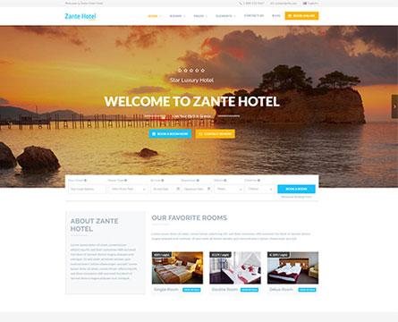 Thiết kế website khách sạn tại Hà Nội, HCM