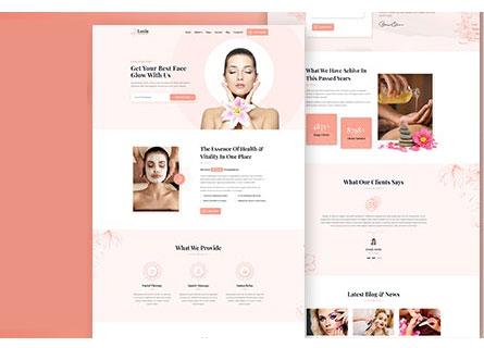 Thiết kế website spa đẹp nhất Hà Nội