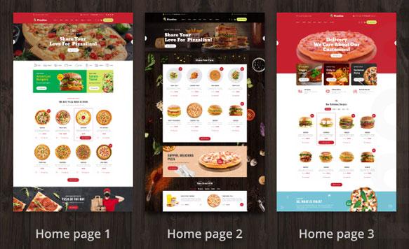 Làm web thực phẩm chuẩn Seo