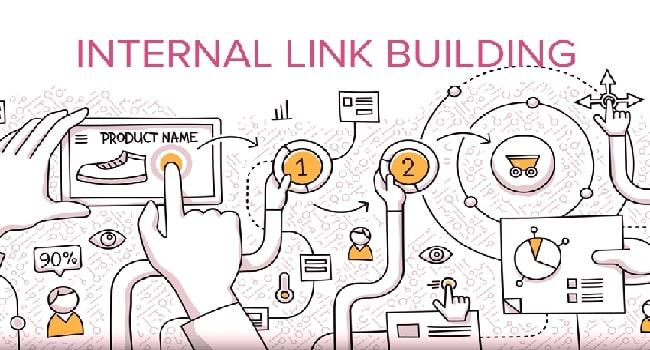 Đặt link liên kết nội bộ