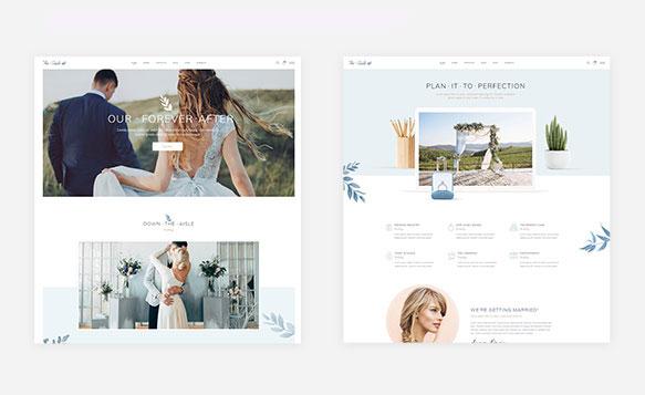 Thiết kế website ảnh viện áo cưới đẹp
