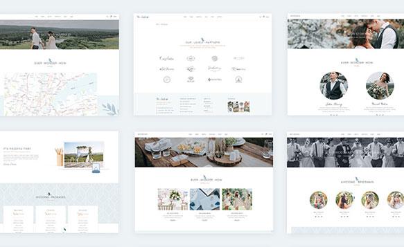 Mẫu thiết kế web chụp ảnh cưới chuẩn Seo