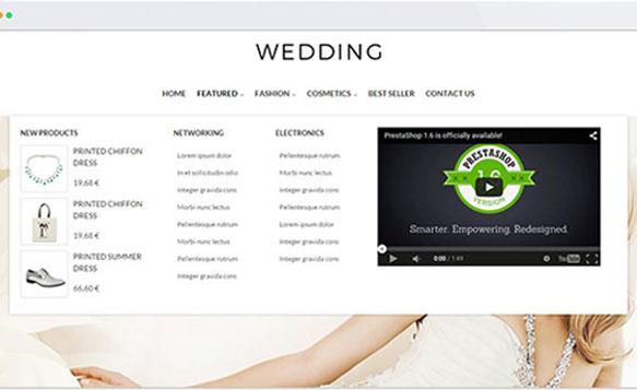 Menu thiết kế Ảnh cưới chuẩn Seo