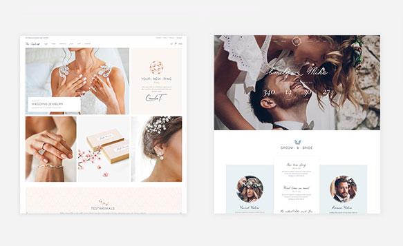Thiết kế website ảnh viện áo cưới Hà Nội