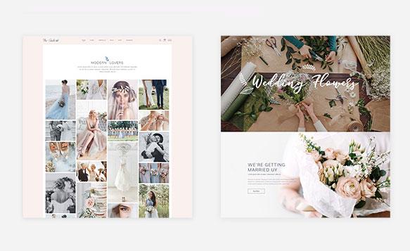 Mẫu Web ảnh cưới Nhan Hòa Web4s