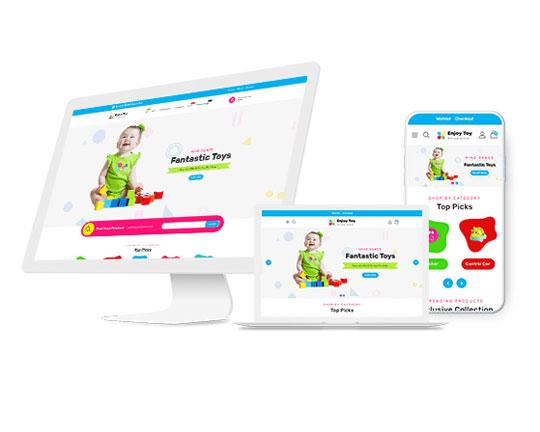 Thiết kế website bán đồ chơi trẻ em