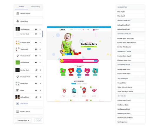 Thiết kế Web bán đồ chơi online