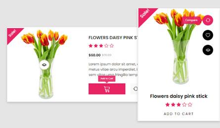 Chương trình Khuyến mại Thiết kê website bán hoa tươi
