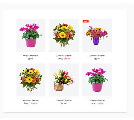 Thiết kế web bán hoa tươi đẹp nhất Hà Nội, TPHCM
