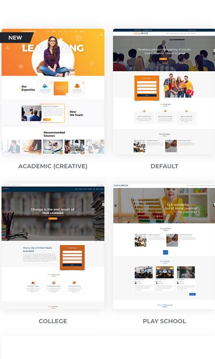 mẫu thiết kế web các trang bán hàng online trực tuyến - miễn phí - đẹp