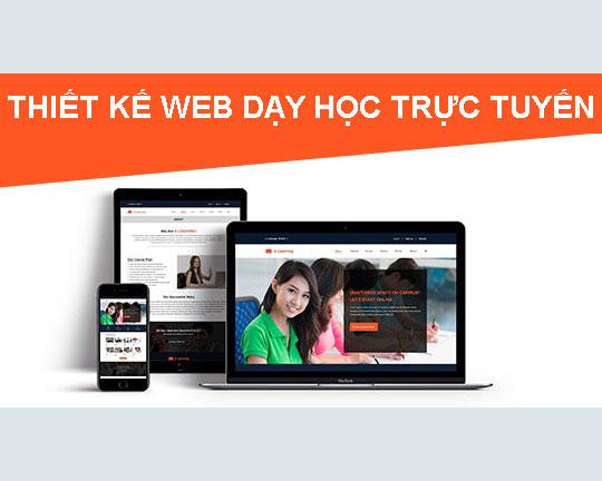 Làm Website dạy học trực tuyến chuẩn seo - Web4s