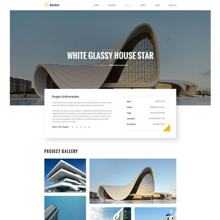 4 mẫu giao diện Website kiến trúc đẹp