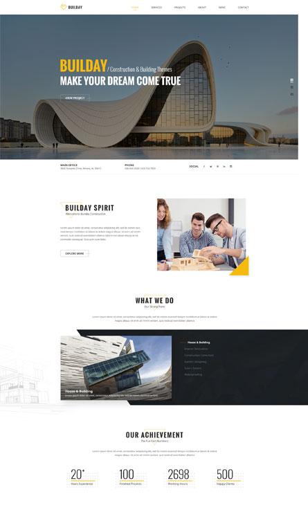 Thiết kế website kiến Trúc Hà Nội
