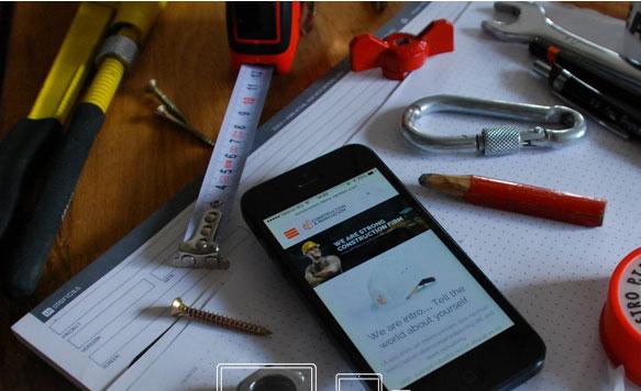 Làm Web xây dựng tương thích mobile