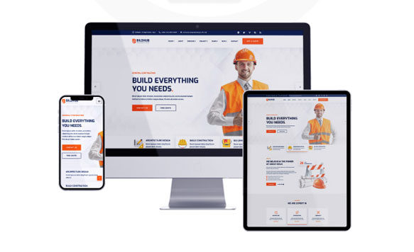 Thiết kế website xây dựng bản mobile